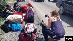 Quase um milhão de venezuelanos fugiram para o Brasil