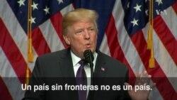 """Trump: """"Un país que no está preparado para ganar una guerra no puede prevenirla"""""""