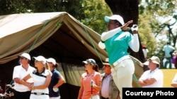 Nigeria's 'Queen of Golf' Mentors Next Generation of Potential Pro Golfers