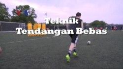 Teknik Tendangan Bebas - Belajar Bola, Mantap!