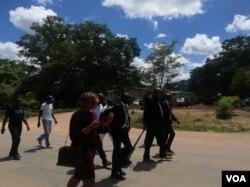 Abamele izibotshwa zebandla leMDC elikhokhelwa nguMnu. Nelson Chamisa.