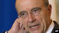 法國外長阿蘭.朱佩(資料圖片)