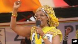 Umkamongameli weZimbabwe uNkosikazi Grace Mugabe