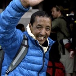 Nepalese mountaineer Apa Sherpa