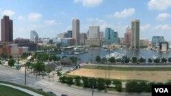 """Rumah singgah """"Muslima Anisah"""" terletak di kota Baltimore, negara bagian Maryland."""