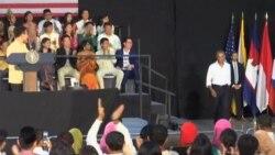 Obama se despide de Laos