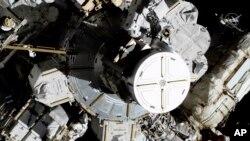 Trạm không gian ISS.