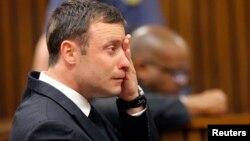 Oscar Pistorius durante o julgamento