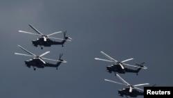 Krıma müdaxilədə helikopterlərdən ibarət hava qüvvələri kontingenti bölümlər arasında yüksək inteqrasiya nümayiş etdirdi.