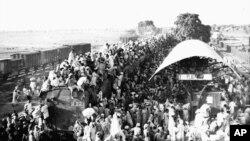 تجزیه هند به دو کشور میلیون ها نفر را مجبور به ترک خانه های شان کرد.