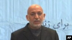 Afghan President Hamid Karzai, March 10, 2011.