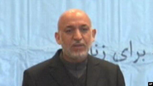 Afghan President Hamid Karzai, March 10, 2011.