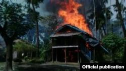 25일 미얀마 서부 라카인 주에서 이슬람 무장세력이 경찰 초소를 습격했다.