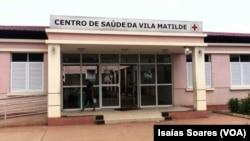 Centro de Saúde, bairro Vila Matilde, Malanje