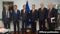 Macedonia, talks