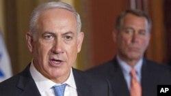 Биньямин Нетаньяху и спикер Палаты представителей Конгресса США Джон Бейнер