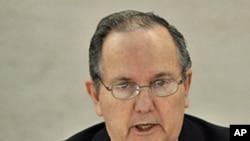 UN Special Investigator on Torture Juan Mendez (file photo)