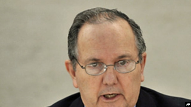UN Special Investigator on Torture Juan Mendez (file photo)