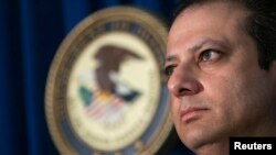 FILE - Preet Bharara, United States Attorney for the Southern District of New York.