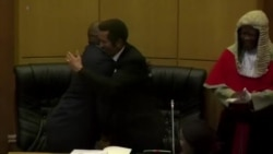 Khama, Masisi Shake Hands, Trade Places in Smooth Transition of Power