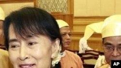 Bà Aung San Suu Kyi, lãnh tụ đấu tranh cho dân chủ Miến Điện