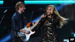 Top 5 Billboard: Tuần của Ed Sheeran và Beyonce