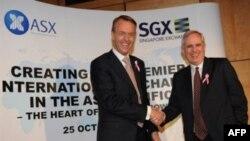 Công ty được liên kết, có tên gọi là SGX-ASX Limited, sẽ trở thành địa điểm niêm yết lớn hàng thứ nhì ở châu Á cho các công ty muốn gầy vốn