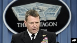 US Navy Vice Adm. Bill Gortney (file photo)
