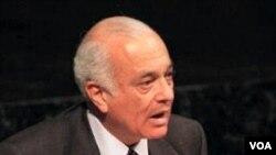 Menteri Luar Negeri Mesir yang baru ditunjuk, Nabil Elaraby.