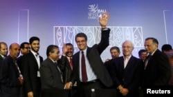 Generalni direktor STO Roberto Azevedo na kraju devete ministarske konferencije Svetske trgovinske organizacije