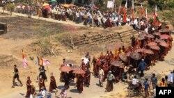 緬甸部份地區出現抗議人口普查