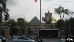 泰国外交部(美国之音申华拍摄)
