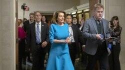 Nancy Pelosi ေအာက္လႊတ္ေတာ္အမတ္အမ်ားစု ေခါင္းေဆာင္အျဖစ္ အမည္တင္သြင္းခံရ