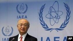 國際原子能機構總幹事天野之彌(資料圖片)
