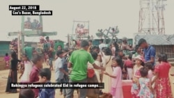 Rohingya Refugees Celebrate Eid in Bangladeshi Camps