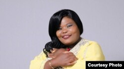 La comédienne zimbabweenne, Samantha Kureya, dite Gonyeti.