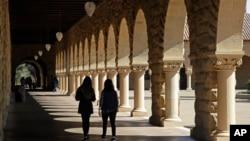 美國史丹福大學校園。