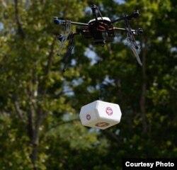 Təcili tibbi yardım dronu