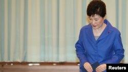 Bà Park Geun-hye là tổng thống dân cử đầu tiên của Hàn Quốc bị truất phế.