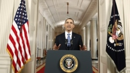 U.S. President Barack Obama makes a statement in the East Room of the White House in Washington about the Supreme Court's decision on his Administration's health care law, June 28, 2012.