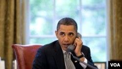 Presiden Barack Obama melakukan pembicaraan telepon dengan beberapa pemimpin Eropa soal situasi di Libya.