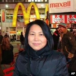 中国异议人士刘念春妻子储海蓝