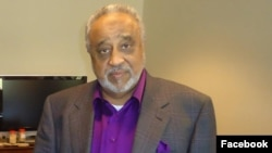 Ethiopian-born Saudi billionaire Sheikh Mohammed Hussein al-Amoudi is seen in an undated photo on a Facebook account bearing his name.