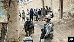 美军士兵在阿富汗作战