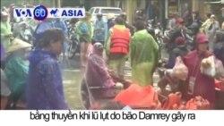 Hội An sơ tán khách du lịch vì bão Damrey