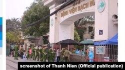 Bệnh viện Bạch Mai, Hà Nội, tháng 3/2020