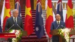 Thủ tướng Úc và VN trao đổi về tình hình bất ổn ở Biển Đông