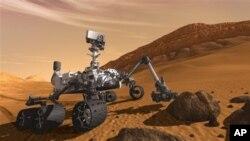 НАСА вели Марс Ровер открил минерали