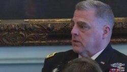 米莱上将谈美军应对未来战争能力原声视频