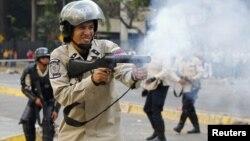 Las manifestaciones antigubernamentales han sido reprimidas violentamente por la policía venezolana.